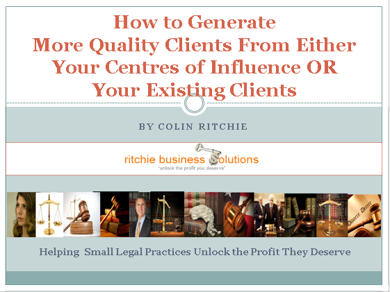 Generate more Client Referrals
